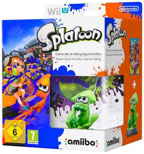 [Wii U] Splatoon and Inkling Nintendo amiibo Bundle - £22.99 - eBay/Argos