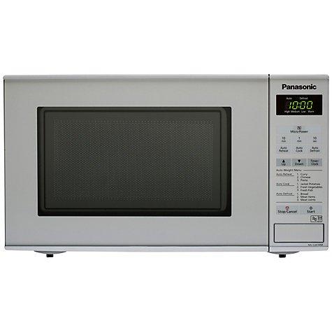 panasonic microwave. £33 @ John Lewis, 2 yr warranty