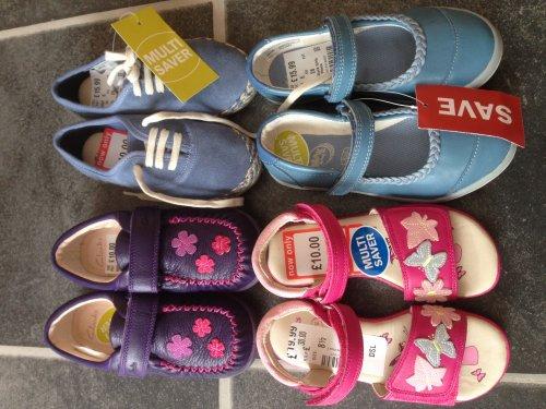 Clarks kids shoes multi saver deals  McArthur Glen Outlet