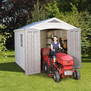 """Keter Factor 8ft 5"""" x 11ft Shed (2.6 x 3.3m) £699.99 @ Costco"""