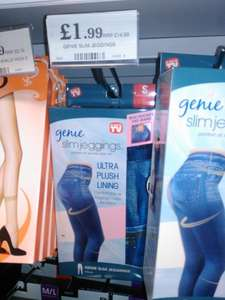 Genie slim fit jeggings £1.99 in store @ Home Bargains