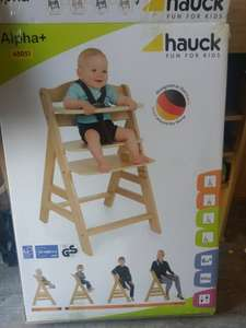 Hauck Alpha+ children's high chair £15 @ ALDI
