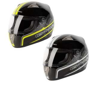 50% OFF G-mac Pilot Graphic Motorcycle Helmet (RRP £59.99)  £26.98(with code CLEAR20) inc. delivery @ Ghost Bikes