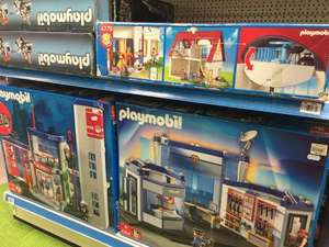 Playmobil police station and fire station from £32.50 each @ Fenwick