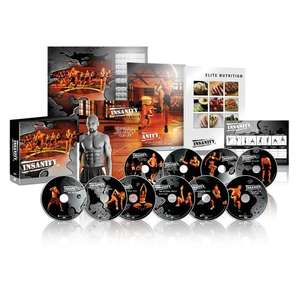 Insanity: The Ultimate Cardio Workout and Fitness DVD Programme. £49.95 @ Amazon
