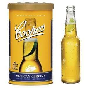 25% off Home Brew kits/equipment e.g. Coopers Mexican Cerveza for £10 @ Tesco Direct