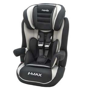 Nania Deluxe Car Seat Booster - Agora Black £39.95 at Online4baby