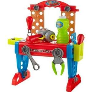 Chad Valley Bubble Tool Box / Bench was £14.99 now £5.99 C+C @ Argos