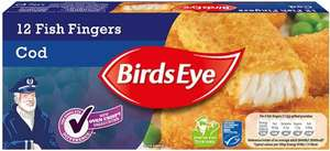 Birds Eye Cod Fillet (58%) Fish Fingers (Pack of 12 = 336g) was £2.50 now £1.60 @ Ocado