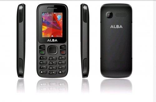 Sim Free Alba 1.8 Inch 0.3MP 32MB Mobile Phone - Black. £12.95 @ Argos / Ebay