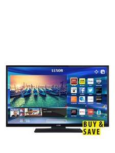 Luxor 32in inch HD-Ready, Freeview HD, WiFi LED, Smart TV - £149 + £3.99 delivery