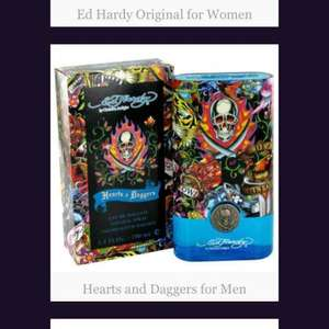 free men's fragrance sample. Ed Hardy