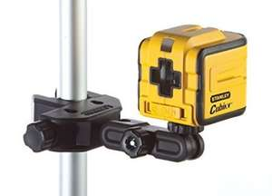 Stanley Intelli Tools INT177340 Cubix Self Levelling Cross Line Laser £29.99 @ Amazon