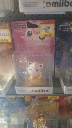 Jigglypuff Amiibo £5 Smthys (Instore)