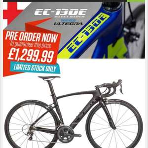 Planet X bike reduced by 35% Planet X EC-130E Rivet Rider Shimano Ultegra 6800 Aero Road Bike £1299.99