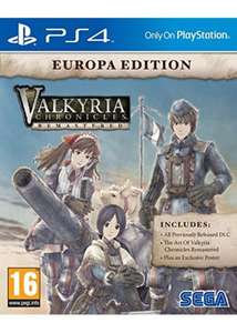 [PS4] Valkyria Chronicles Remastered Europa Edition - £14.99 - Base