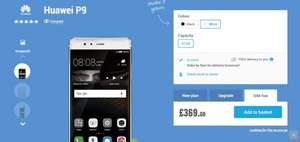 Huawei P9 sim free £369 at Carphone Warehouse