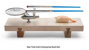 Star Trek Enterprise Sushi Set!!!!! £32 delivered at Think Geek