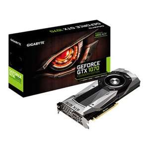 GTX 1070 FE in stock Scan £399 / £410.50 delivered @ Scan