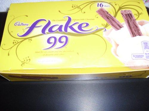 Cadbury flake 99.box of 16, @ Poundland.(£1.00)