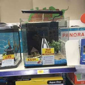 fishy tank 50% off £55 @ pets at home online & instore