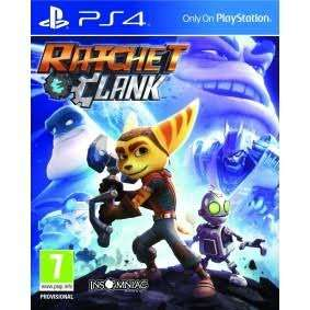 (PS4) Ratchet and Clank £18.00 (Prime) / £20.99 (non Prime) @ Amazon
