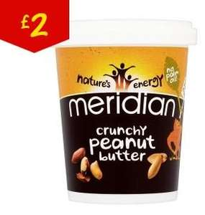 Meridian Peanut Butter 454g £2 @ Asda