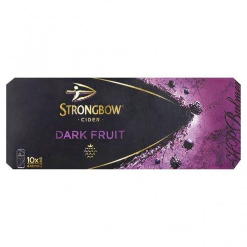 Strongbow dark fruits cider, 10 packs, 3 for £20@morrisons.