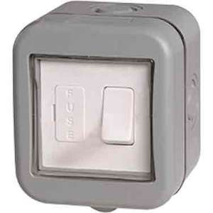 IP55 Weatherproof 13A Switched Fused Connection Unit - £5.98 delivered at Electrical Showroom