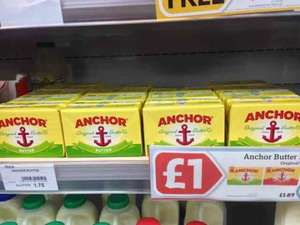Anchor Butter instore at Nisa for £1