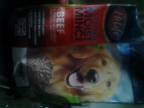 HiLife Moist Mince Complete Dog Food 3kg £3.99 @ Farmfoods