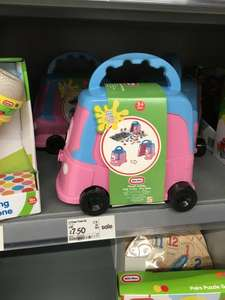 Little Tikes CoupeTruck Set - Pink @ £7.50 (RRP: 15) @ ASDA Instore