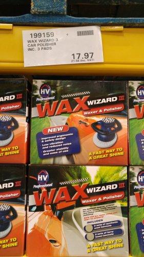 Wax Wizard 3 Car Waxer and Polisher £21.56 @ Costco