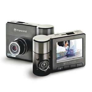 Transcend DrivePro 520 Dashcam - 32GB Dual Camera Wifi + GPS - £85.39 @ Amazon UK