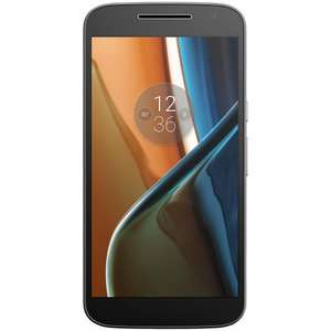 Moto G 4th Gen 16GB Sim Free Black or White with 2 yr guarantee £144.95 delivered @ John Lewis