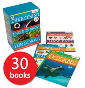 Everything i need to know for school -Key stage 1 book set £29.99 thebookpeople