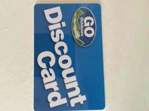 Go Outdoor Free Discount Card