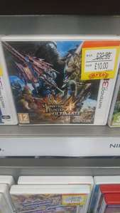 Monster Hunter 4 Ultimate for 3DS £10 @ Smyths toys instore