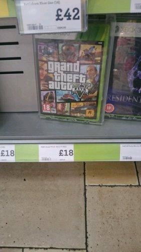 GTA V £18 @ Morrisons