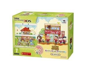 "New Nintendo 3DS console bundle with ""Animal Crossing - Happy Home Designer"" @ Coolshop (£118)"