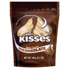 Hershey's Creamy Chocolate/Creamy Chocolate+Almond Kisses Pouch & Reese's Miniatures Pouch/Sticks Minis £1 @ Asda Instore/Online