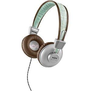The House of Marley Positive Vibration Headphones - Aqua Zavvi £9.99