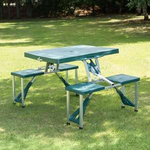 Folding 4 seater camping picnic table was £39.99 now £19.99 at B&M instore and online