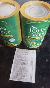 Home Bargains - John West Tuna, 2PK - 8 tins £4.50