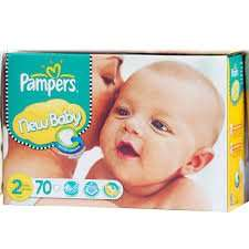 2 for £10 on New Baby Jumbo Pampers at Babysrus