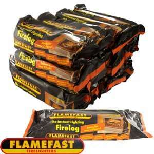 Flamefast Firelogs (Case Of 12) £11.88 @ Home Bargains