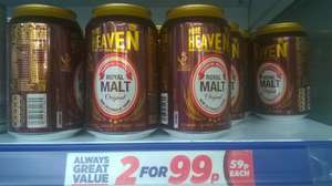Pure Heaven Out of this World Royal MALT 330ml, 2 x 330ml for 99p at Sam 99p Stores