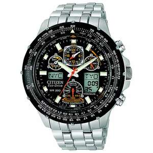 Citizen Mens' SKYHAWK A-T (Eco-Drive Radio Controlled Titanium Chronograph Watch) £234 hsamuel