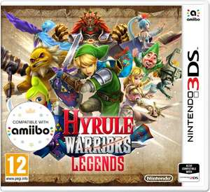 Hyrule Warriors (Nintendo 3DS) @ Amazon £14.79 (Prime) £16.78 without