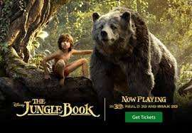 The Jungle Book - Movies For Juniors £1.80 at Cineworld or Odeon kids £1 to £2.50